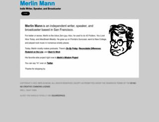 merlinmann.com screenshot