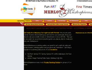 merlot2masterpiece.com screenshot