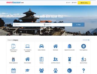 merobazaar.com screenshot