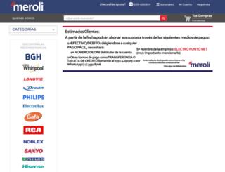 meroli.com screenshot