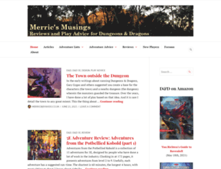 merricb.com screenshot