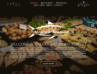 merrickseafood.com screenshot