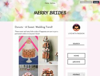 merrybrides.tumblr.com screenshot