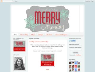 merrymondaychristmaschallenge.blogspot.in screenshot