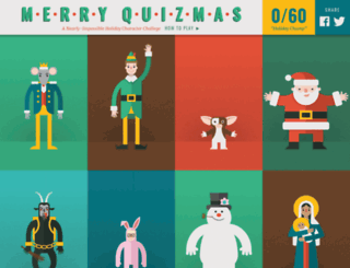 merryquizmas.com screenshot