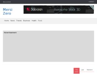 mersi-zero.eu screenshot
