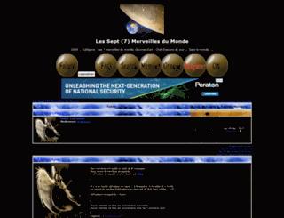 merveilles.foroactivo.net screenshot