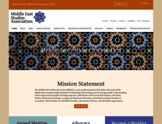 mesana.org screenshot