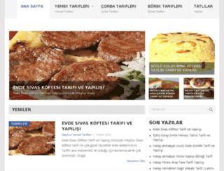 meshuryemektarifleri.com screenshot
