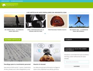 mesiento.com screenshot