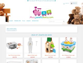 mesjouetsbois.com screenshot