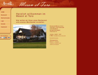 meson-el-toro.de screenshot