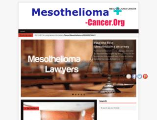 mesothelioma-cancer.org screenshot