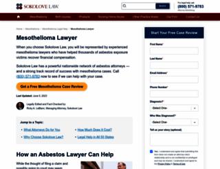 mesotheliomaresourceonline.com screenshot