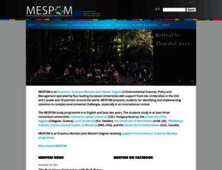 mespom.eu screenshot