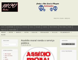 mesquitacomovai.com.br screenshot