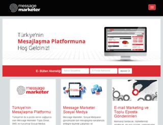 messagemarketer.com screenshot