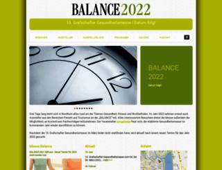 messe-balance.de screenshot