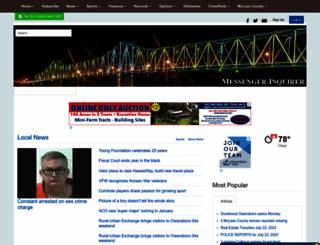 messenger-inquirer.com screenshot