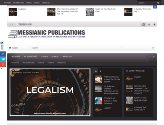 messianicpublications.com screenshot