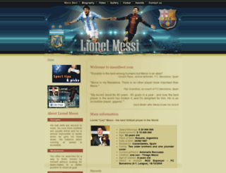 messibest.com screenshot