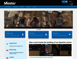 mester.com screenshot