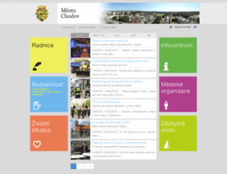mestochodov.cz screenshot