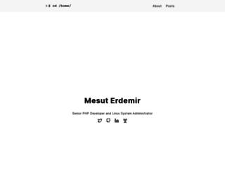 mesuterdemir.com screenshot