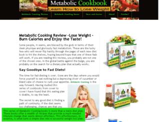 metaboliccookbook.org screenshot