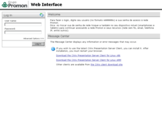 metaframe1.promon.com.br screenshot