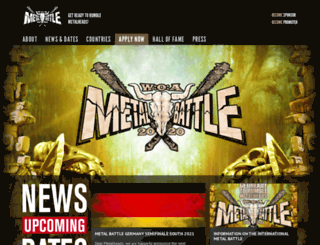 metal-battle.com screenshot