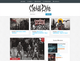 metalbite.com screenshot
