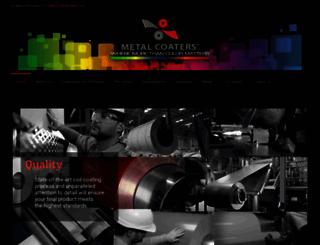 metalcoaters.com screenshot