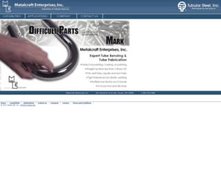 metalcraft.com screenshot