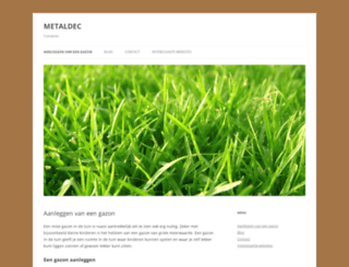 metaldec.nl screenshot