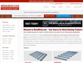 metaldeck.com screenshot