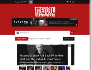 metalempire.co.uk screenshot