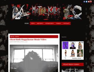 metalkills.com screenshot