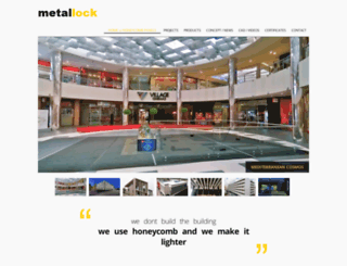 metallock.com screenshot