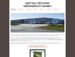 metalltechnik-dermbach.de screenshot