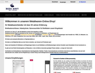 metallwarenvertrieb.de screenshot