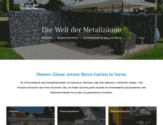 metallzaunzentrum.de screenshot