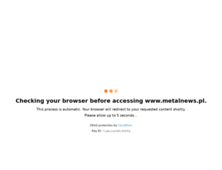metalnews.pl screenshot