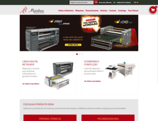 metalnoxmaquinas.com.br screenshot