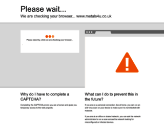metals4u.co.uk screenshot