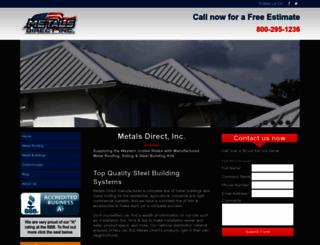 metalsdirectinc.com screenshot