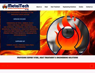 metaltech.co.za screenshot