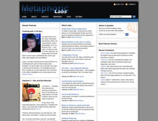 metaphoriclabs.com screenshot