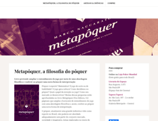 metapoker.com.br screenshot