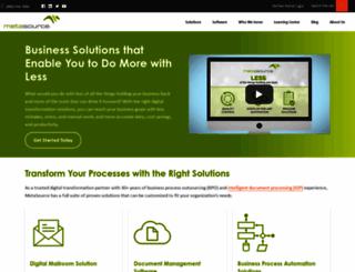 metasource.com screenshot